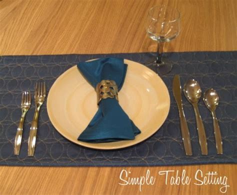 simple place setting cathie filian simple place setting