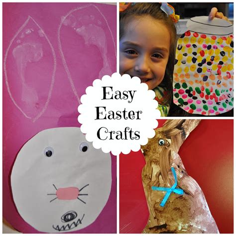 easy easter crafts for 3 easy easter crafts for preschoolers