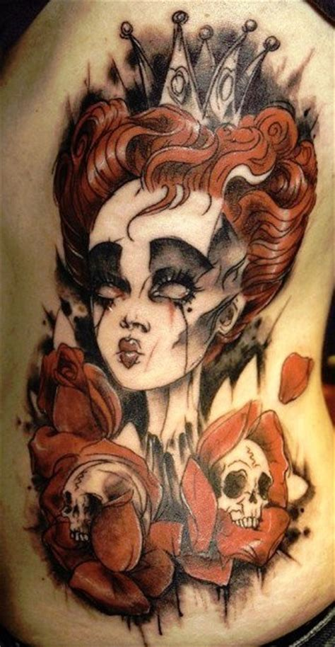 queen of hearts tattoo 17 best images about on wiccan tattoos
