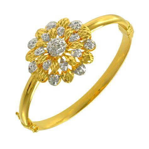 Gelang Cincin Rings Bracelet 1 gelang tangan emas 916 wah chan gold jewellery