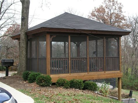 screen gazebo ideas and designs screened gazebo pinteres