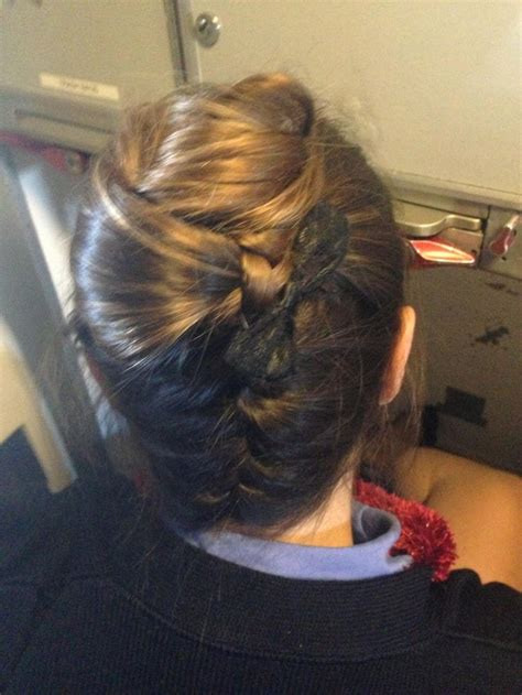 best hairdo for a flight attendant the tornado by dorie flightattendant fashion styles