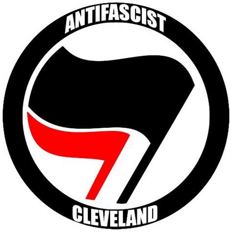 Antifa Aufkleber by Cleveland Antifa Clevelandantifa