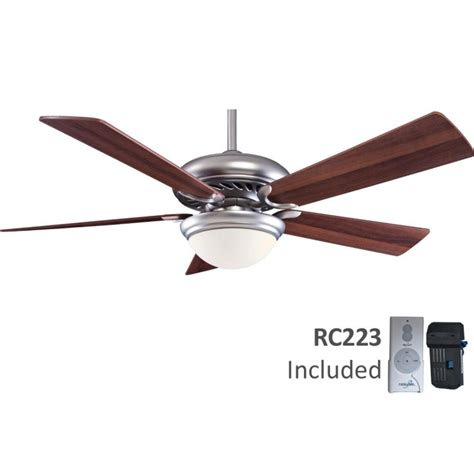52 inch ceiling fan with five blades and light kit ebay