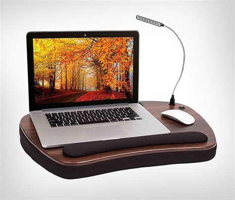 Top 20 Best Portable Laptop Notebook Lap Desk Tray You Laptop Desk With Light