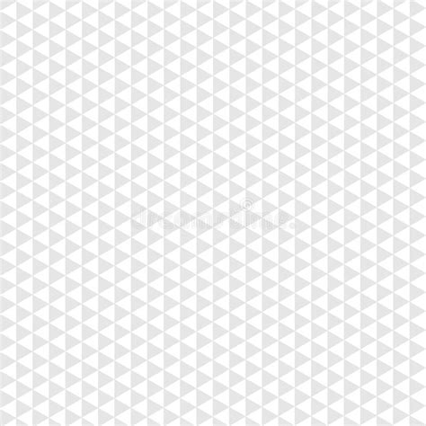 triangle pattern grey seamless pattern gray triangle on white background stock