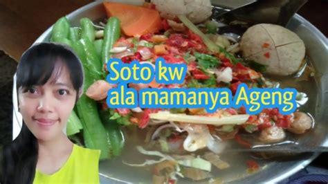 membuat soto kw yg simpel enakdebm youtube