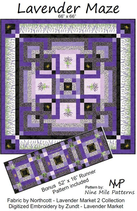 lavender maze miscellaneous patterns