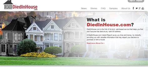 diedinhouse com this could be the most morbid app we ve ever heard of