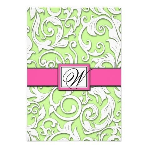 hot pink and green business cards business cards 100