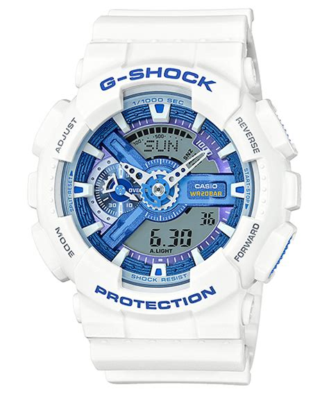 Casio G Shock Ga 110tp 7a White by G Shock White And Blue Summer Sky Series G Central G