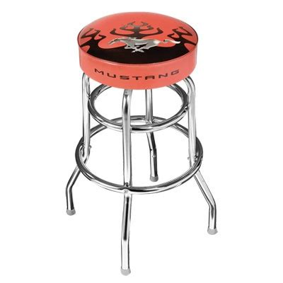 Garage Stools With Logos by Mustang Collectors Shop Stool Only 114 95 Each And Made