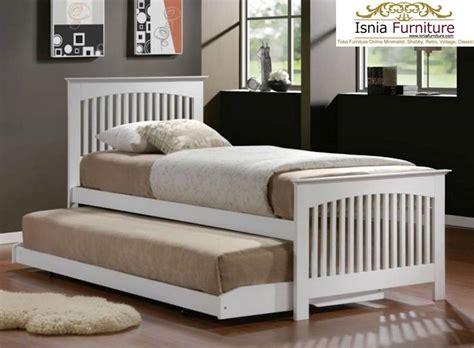 Tempat Tidur Anak Murah Bed Sorong Duco White Nakas Set Kamar Anak tempat tidur anak sorong furniture multifungsi untuk rumah