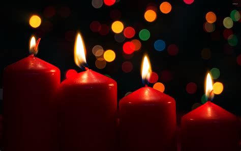 candele lilla burning advent candles wallpaper wallpapers 51692