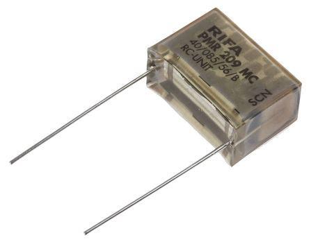 capacitor 220nf pmr209mc6220m100r30 kemet rc capacitor 220nf 100ω tolerance 177 20 250 v ac 630 v dc 1 way
