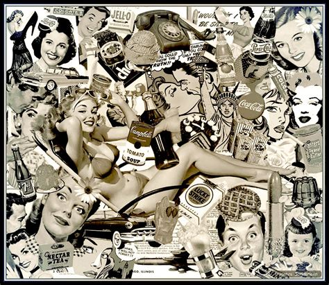 imagenes pin up hd collage retro anuncios pin up wallpaper vintage