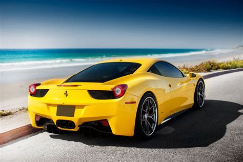ferrari yellow and yellow ferrari 458 wallpapers and images wallpapers