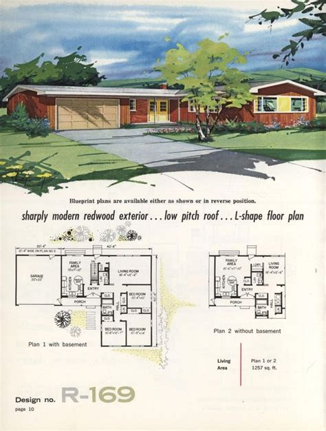 1960s ranch house plans pinterest the world s catalog of ideas