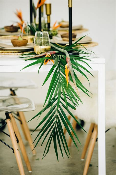 Modern Tropical Wedding Inspiration with a Living Wall