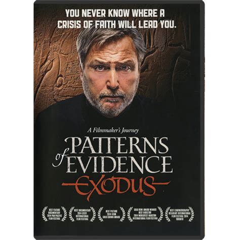 pattern of evidence com patterns of evidence exodus dvd creation today