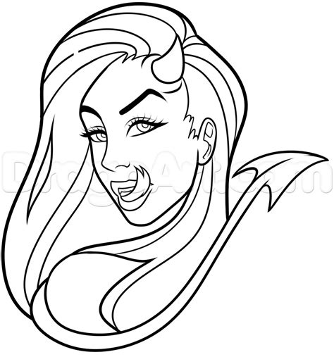how to draw a devil tattoo step by step tattoos pop