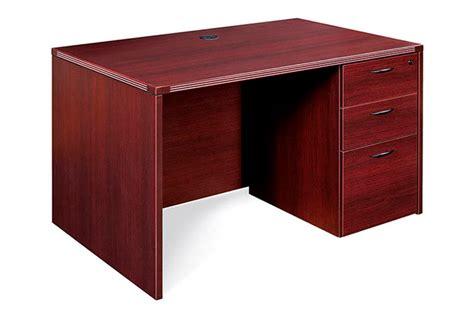 Small Pedestal Desk Small Single Pedestal Desk Office Furniture Warehouse