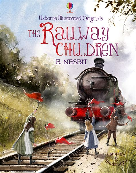 the railway children illustrated the railway children on behance