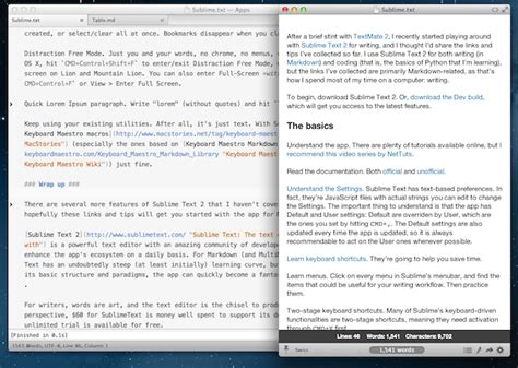 sublime text 3 theme location mac sublime text 2 and markdown tips tricks and links