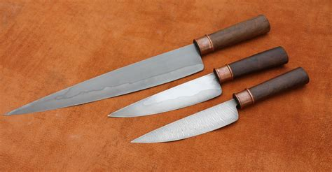 How To Make Kitchen Knives Kitchen Knives For Sale Owen Bush