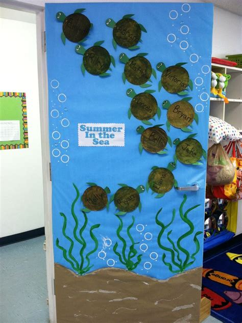 themes ideas for summer c summer classroom door my amazing classroom pinterest