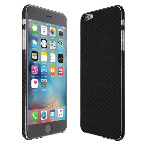 Carbon For Iphone 6 Alf35 skinomi techskin apple iphone 6s carbon fiber skin protector