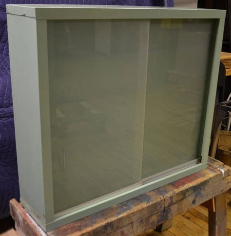 wall cabinet sliding doors dental wall cabinet with sliding glass doors at 1stdibs