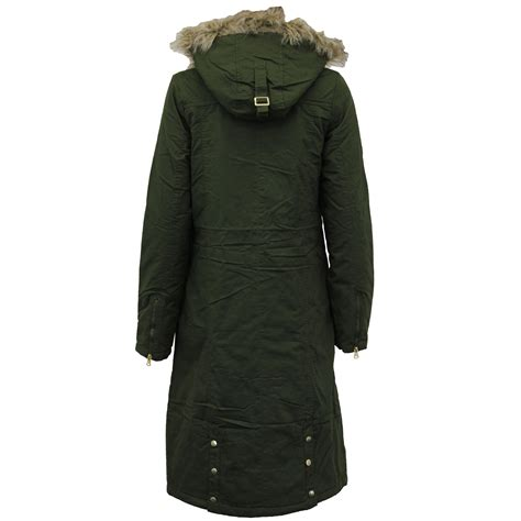 Seoul Blazer Jaket Coat womens parka padded hooded sherpa fleece jacket coat by brave soul ebay