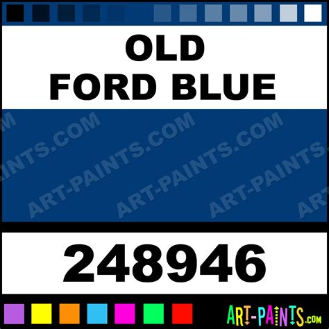 ford blue engine enamel enamel paints 248946