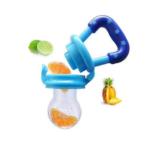 Baby Food Feeder Empeng Buah dot empeng bayi botol feeder buah blue jakartanotebook