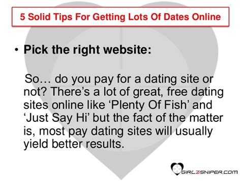 10 Tips For Dating A by Dating Tips For 5 Solid Tips For Getting Lots Of