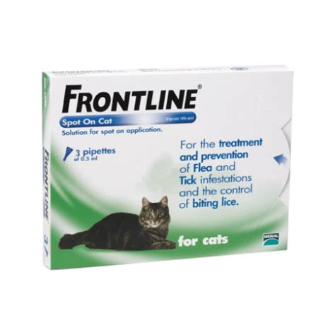 frontline spot on top for dogs frontline spot on top spot for cats green 3