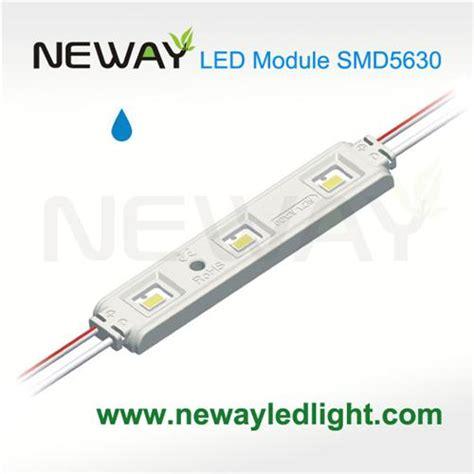 Led 3 Modul Biru Waterproof 5630 3 led waterproof smd led module smd5630 waterproof 3 led led module 12v rectangle 3 leds