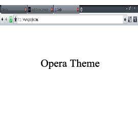 Opera Theme For Google Chrome | download opera google chrome theme