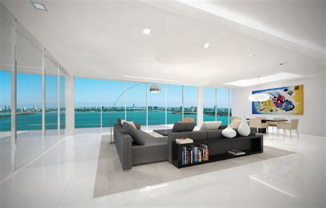 bay house miami bay house luxury condos miami living area new build homes