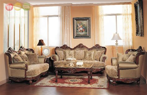 Traditional Style Furniture Living Room by Bordeaux Luxury Chenille Formal Living Room Sofa And