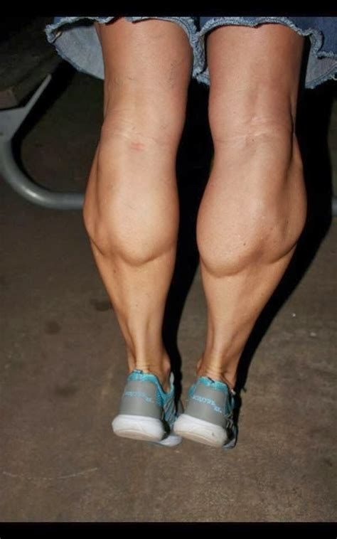 womens muscular athletic legs  calves daily