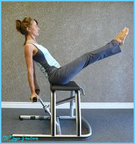 pilates chair abdominal exercises chair pilates exercises all