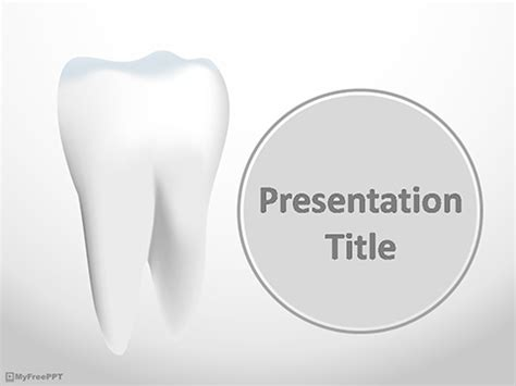 dental templates for powerpoint free download image gallery tooth templates