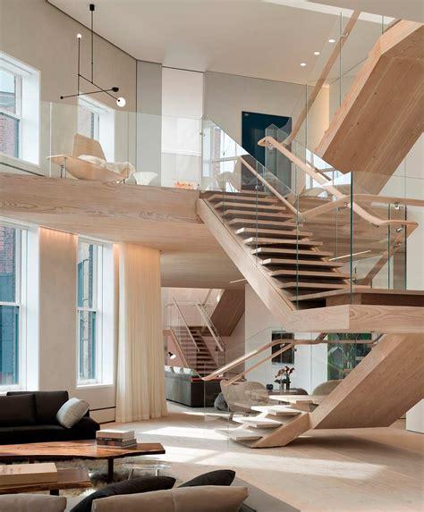 home design 3d gold stairs soho loft combining scandinavian and american design sensibilities freshome com