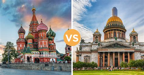 moscow to st petersburg moscow or st petersburg which russian city should you
