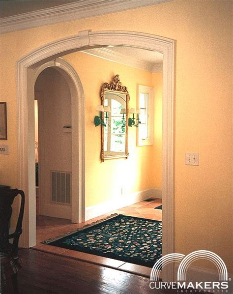 interior archway kits curvemakers continuous molding arch kits curvemakers