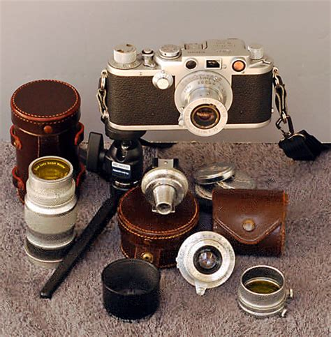 leica screw mount cameras the 1930's through the 1950's