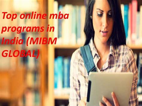 International Mba Programs In India by Mibm Global Top Mba Programs In India