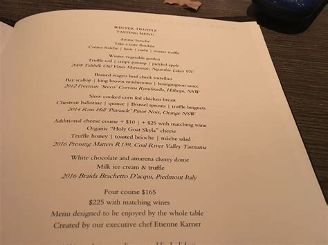 Living Room Park Hyatt Menu Dining Room Park Hyatt Sydney Of Review The Modern